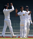 Nuwan Kulasekara struck early to dismiss Tamim Iqbal, Sri Lanka v Bangladesh, 2nd Test, Colombo, 1st day, March 16, 2013