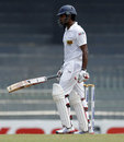 Lahiru Thirimanne fell for a duck, Sri Lanka v Bangladesh, 2nd Test, Colombo, 2nd day, March 17, 2013