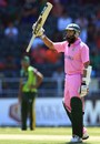 Hashim Amla reached his half-century in 53 balls