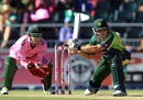 Kamran Akmal prepares to play a shot