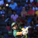 Shahid Afridi clobbers the ball during his knock of 88