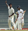 Abul Hasan got the big wicket of Kumar Sangakkara, Sri Lanka v Bangladesh, 2nd Test, Colombo, 3rd day, March 18, 2013