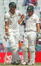 Mitchell Starc and Xavier Doherty added 44 for the final wicket, India v Australia, 3rd Test, Mohali, 5th day, March 18, 2013