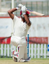 Ruvindu Gunasekera drives to the off side, Canada v Kenya, ICC Intercontinental Cup, Sharjah, 1st day, March 18, 2013