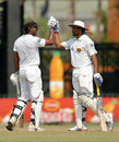 Kumar Sangakkara and Tillakaratne Dilshan shared a 94-run stand, Sri Lanka v Bangladesh, 2nd Test, 4th day, Colombo, March 19, 2013