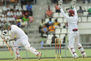 Craig Ervine was trapped in front for 18, West Indies v Zimbabwe, 2nd Test, Roseau, 1st day, March 20, 2013