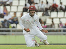 Kieran Powell took a couple of catches at short leg, West Indies v Zimbabwe, 2nd Test, Roseau, 1st day, March 20, 2013