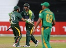 Shoaib Malik and Saeed Ajmal finished the chase, South Africa v Pakistan, 4th ODI, Durban, March 21, 2013