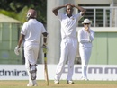 Tendai Chatara has his hands on his head, West Indies v Zimbabwe, 2nd Test, Roseau, 2nd day, March 21, 2013