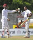 Shivnarine Chanderpaul and Denesh Ramdin added 173, West Indies v Zimbabwe, 2nd Test, Roseau, 2nd day, March 21, 2013