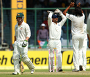 Phillip Hughes walks back after being bowled, India v Australia, 4th Test, Delhi, March 22, 2013