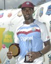Shane Shillingford was the Man of the Match and Series, West Indies v Zimbabwe, 2nd Test, Dominica, 3rd day, March 22, 2013