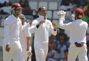 Marlon Samuels took 3 for 35, West Indies v Zimbabwe, 2nd Test, Dominica, 3rd day, March 22, 2013