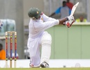 Vusi Sibanda is hit on the helmet, West Indies v Zimbabwe, 2nd Test, Dominica, 3rd day, March 22, 2013