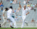 Jonathan Trott got rid of Brendon McCullum