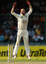 Nathan Lyon appeals, India v Australia, 4th Test, Delhi, 2nd day, March 23, 2013