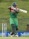 Tamim Iqbal pulls during his hundred