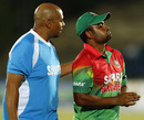 Tamim Iqbal suffered a hairline fracture on his right thumb while fielding, Sri Lanka v Bangladesh, 1st ODI, Hambantota, March 23, 2013