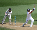 Matt Prior sends one through the off side