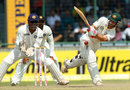 Matthew Wade plays to the leg side, India v Australia, 4th Test, Delhi, 3rd day, March 24, 2013