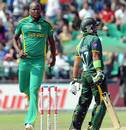 Lonwabo Tsotsobe got rid of Imran Farhat, South Africa v Pakistan, 5th ODI, Benoni, March 24, 2013