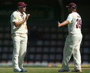 Ryan Harris and James Hopes took six wickets between them on the fourth day
