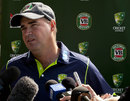 Australia coach Mickey Arthur speaks to the media in Perth, March 26, 2013