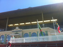 The upper tier of the Museum Stand at the Basin Reserve, Wellington, March 2013