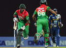 Jahurul Islam and Anamul Haque had a short but brisk stand, Sri Lanka v Bangladesh, 3rd ODI, Pallekele, March 28, 2013