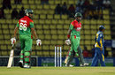 A long rain interruption shortened Bangladesh's chase to 27 overs, Sri Lanka v Bangladesh, 3rd ODI, Pallekele, March 28, 2013