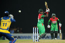 Jahurul Islam edges behind to Kumar Sangakkara, Sri Lanka v Bangladesh, 3rd ODI, Pallekele, March 28, 2013