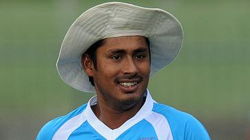 Mohammad Ashraful at training