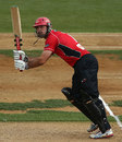 Shanan Stewart clicks to the on side, Auckland v Canterbury, Ford Trophy, final, Auckland, March 31, 2013