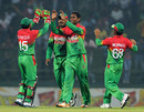 Sohag Gazi took the early wicket of Dilshan Munaweera, Sri Lanka v Bangladesh, only Twenty20, Pallekele, March 31, 2013