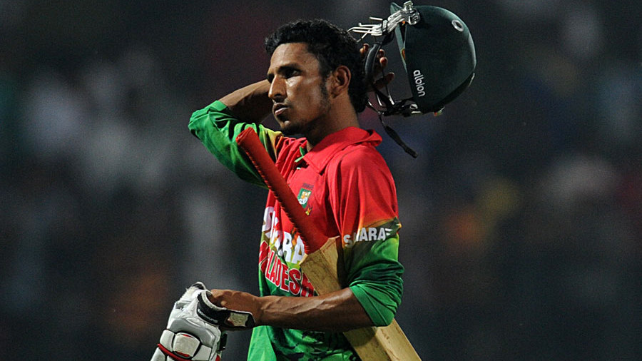 Nasir Hossain had a rare failure on what has a successful tour for him