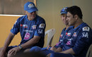 John Wright, Ricky Ponting and Anil Kumble have a chat, Mumbai, March 31, 2013