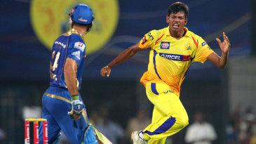 Ankit Rajpoot dismisses Ricky Ponting