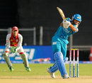 Abhishek Nayar hits to the leg side, Pune Warriors v Kings XI Punjab, IPL, Pune, April 7, 2013