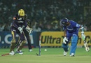 Rahul Dravid is bowled by Rajat Bhatia
