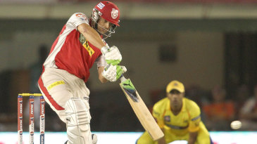 Adam Gilchrist hits through the covers