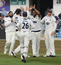 Chris Jordan took 6 for 48 on his Sussex debut, Yorkshire v Sussex, County Championship, Division One, Headingley, 1st day, April 10, 2013