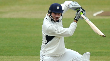 James Vince notched up Hampshire's first ton of the season