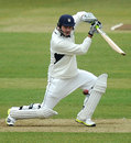 James Vince notched up Hampshire's first ton of the season, Hampshire v Leicestershire, County Championship, Division Two, Ageas Bowl, 2nd day, April 11, 2013