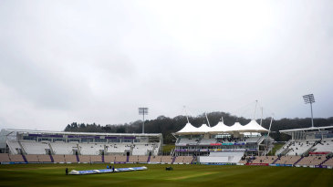 Clouds gather over the Ageas Bowl