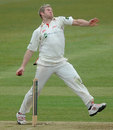 Matthew Hoggard found the breakthrough on day two, Hampshire v Leicestershire, County Championship, Division Two, Ageas Bowl, 2nd day, April 11, 2013