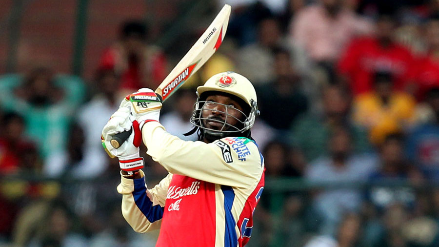 "<b><a href=""http://www.espncricinfo.com/westindies/content/player/51880.html"">Chris Gayle</a></b><br> <b>Sixes</b>: 108<br> <b>Ground</b>: M Chinnaswamy Stadium, Bangalore<br> <b>Innings</b>: 29 <b>Sixes per innings</b>: 3.7"