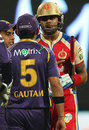 Virat Kohli and Gautam Gambhir in a heated exchange