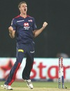 Morne Morkel erupts after taking a wicket