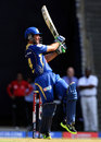 Ricky Ponting plays a pull shot, Mumbai Indians v Pune Warriors, IPL 2013, Mumbai, April 13, 2013