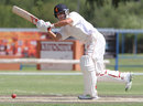 Michael Rippon plays to the leg side, Namibia v Netherlands, ICC Intercontinental Cup 2011-13, 2nd day, Windhoek, April 12, 2013